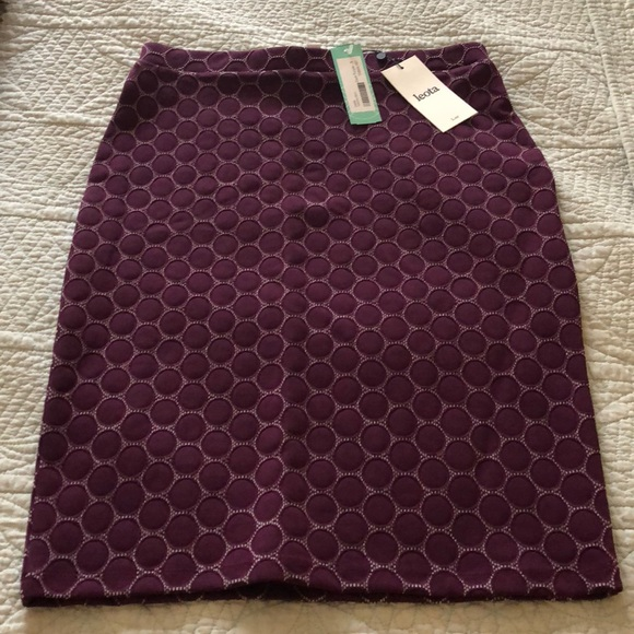 00f4fd71aac8 Leota Skirts | Tabitha Dark Purple Fitted Skirt | Poshmark